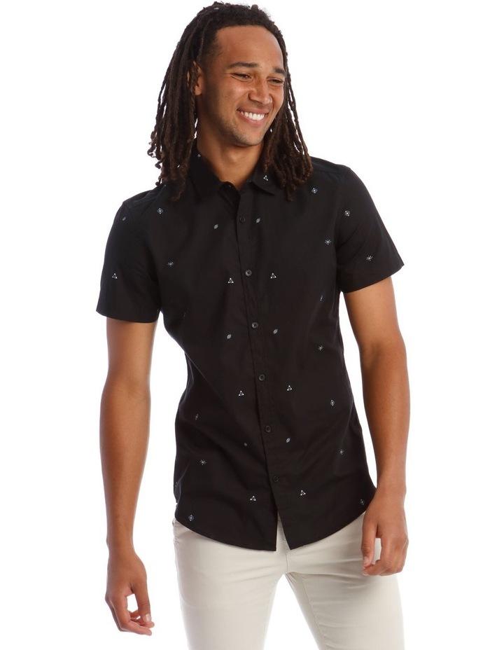King Louie Micro Print Short Sleeve Shirt image 1