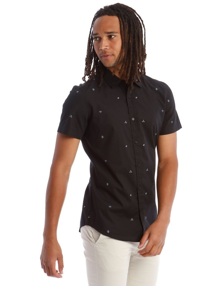 King Louie Micro Print Short Sleeve Shirt image 2