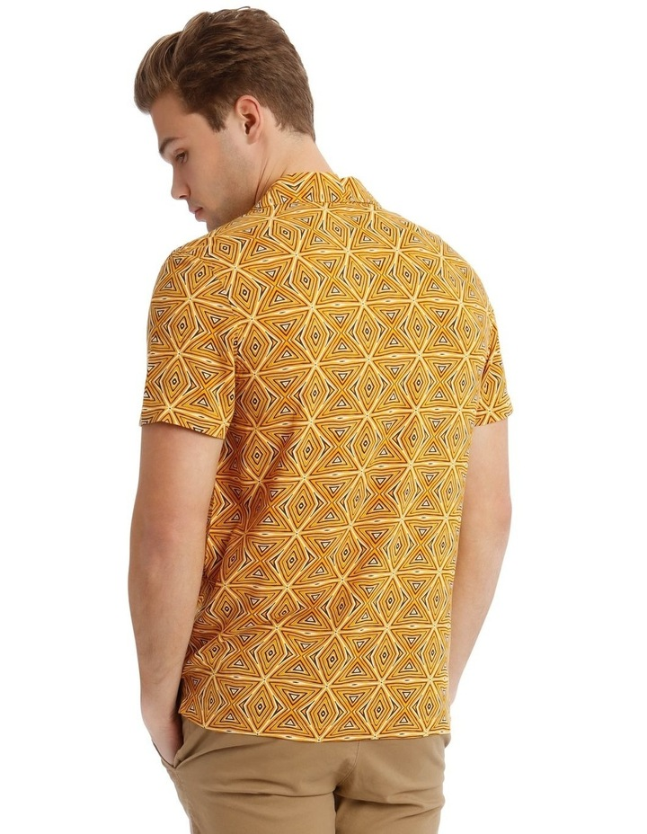 Tabaqui Print Short-Sleeve Rayon Shirt image 3