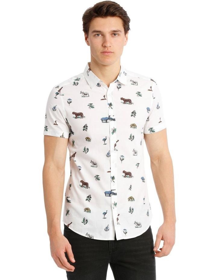 Rama Print Short-Sleeve Shirt image 1
