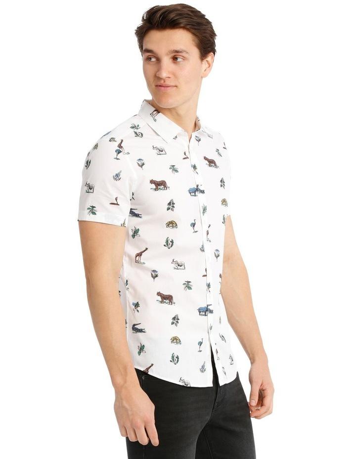 Rama Print Short-Sleeve Shirt image 2