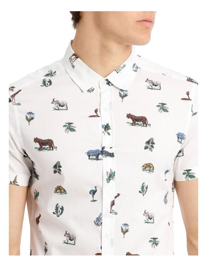 Rama Print Short-Sleeve Shirt image 4
