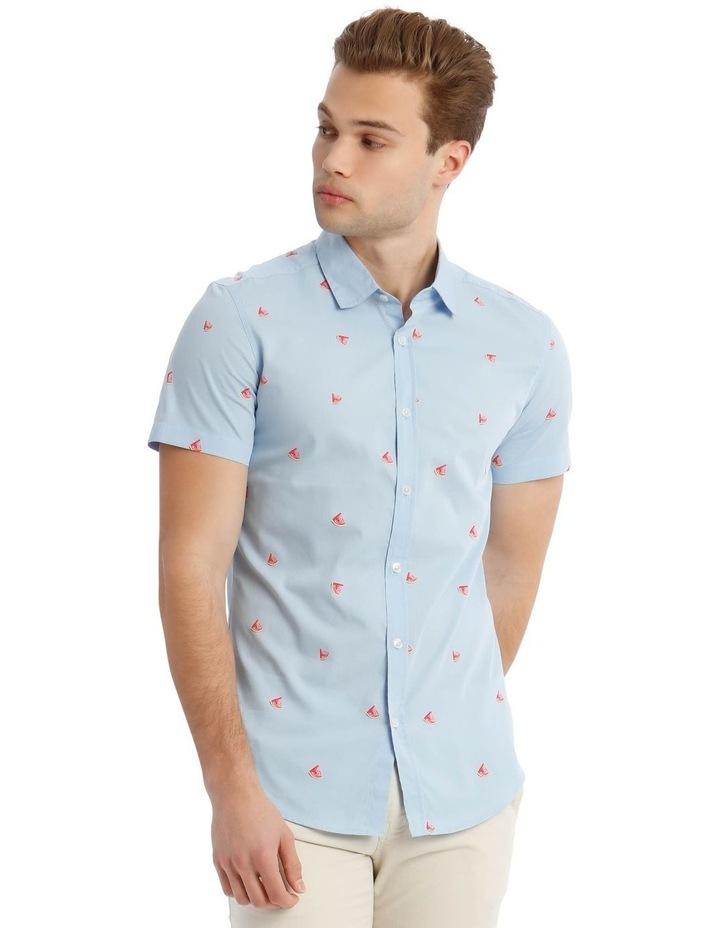 Tropicana Convo Print Short-Sleeve Shirt image 1