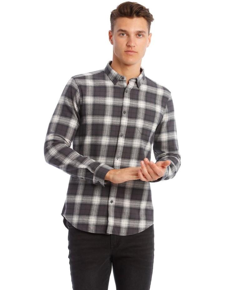 Mustang Check Long-Sleeve Shirt image 1