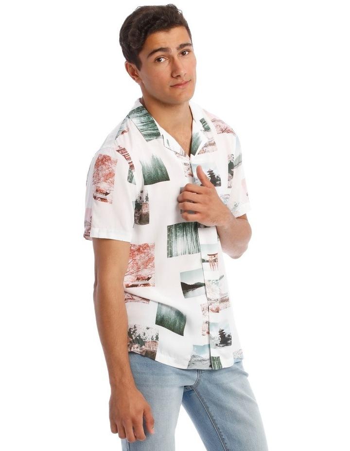 Ruiz Short-Sleeve Photographic Print Shirt image 2