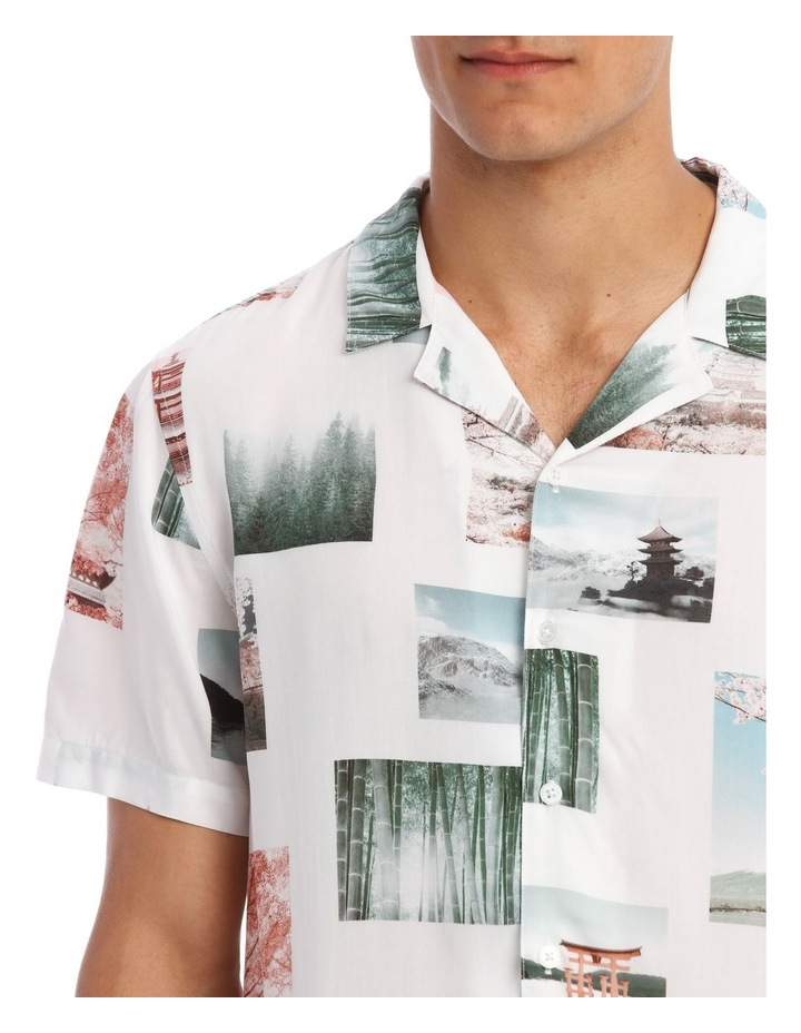 Ruiz Short-Sleeve Photographic Print Shirt image 4