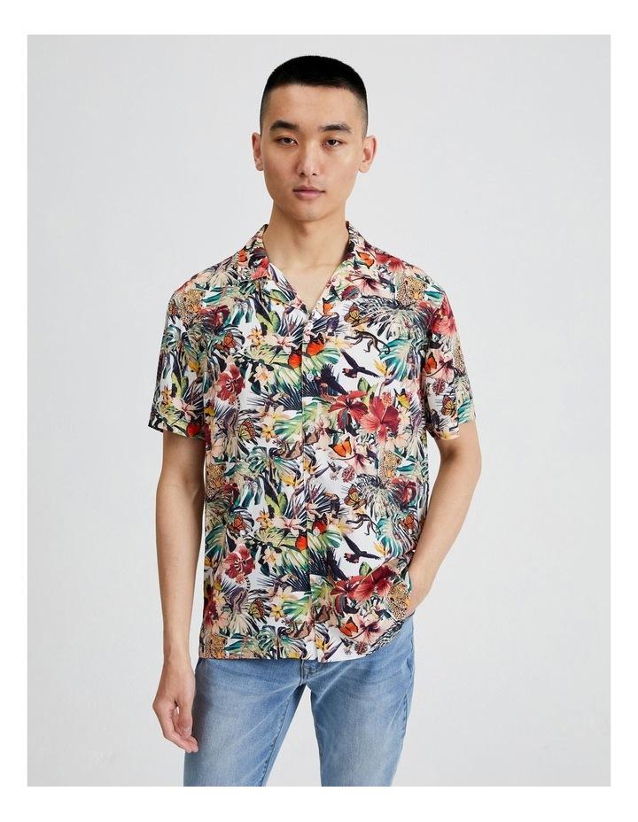 Nettle-Tree All Over Print Short Sleeve Shirt image 1