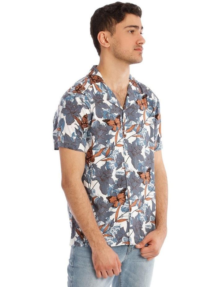 Claudina All Over Print Short Sleeve Rayon Shirt image 2