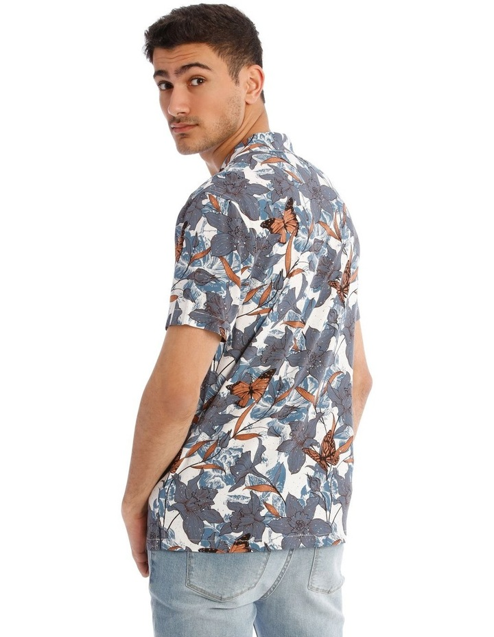Claudina All Over Print Short Sleeve Rayon Shirt image 3