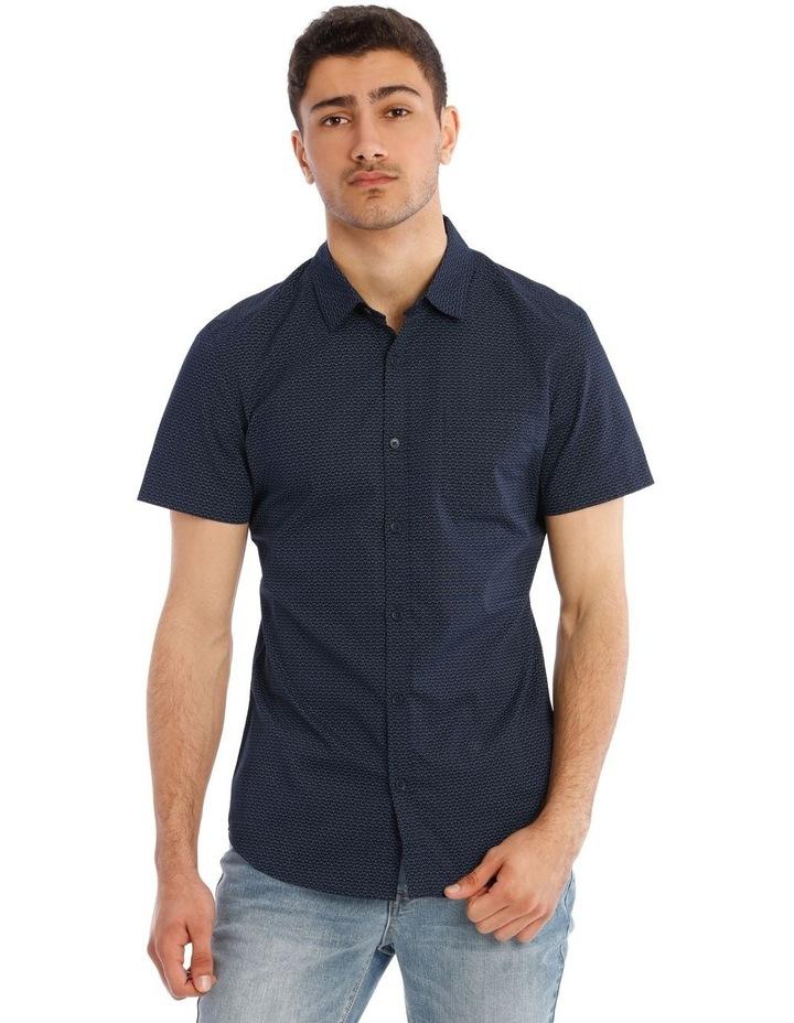 Syzslak Geo Print Short Sleeve Shirt image 1