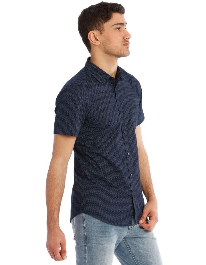 Syzslak Geo Print Short Sleeve Shirt image 2