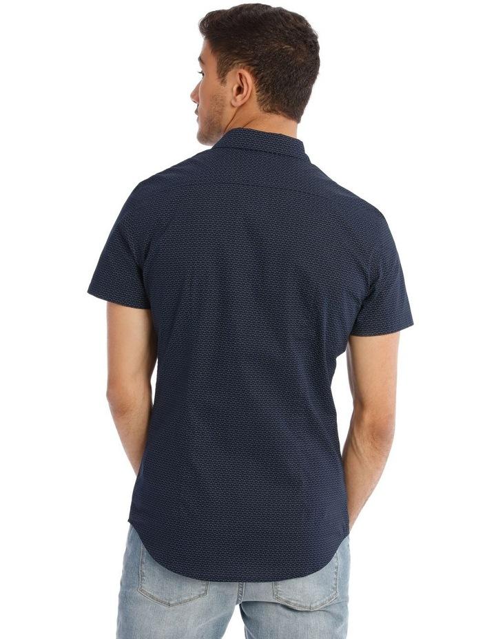 Syzslak Geo Print Short Sleeve Shirt image 3