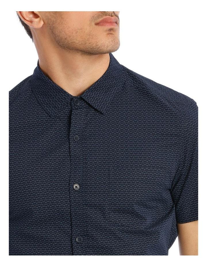 Syzslak Geo Print Short Sleeve Shirt image 4