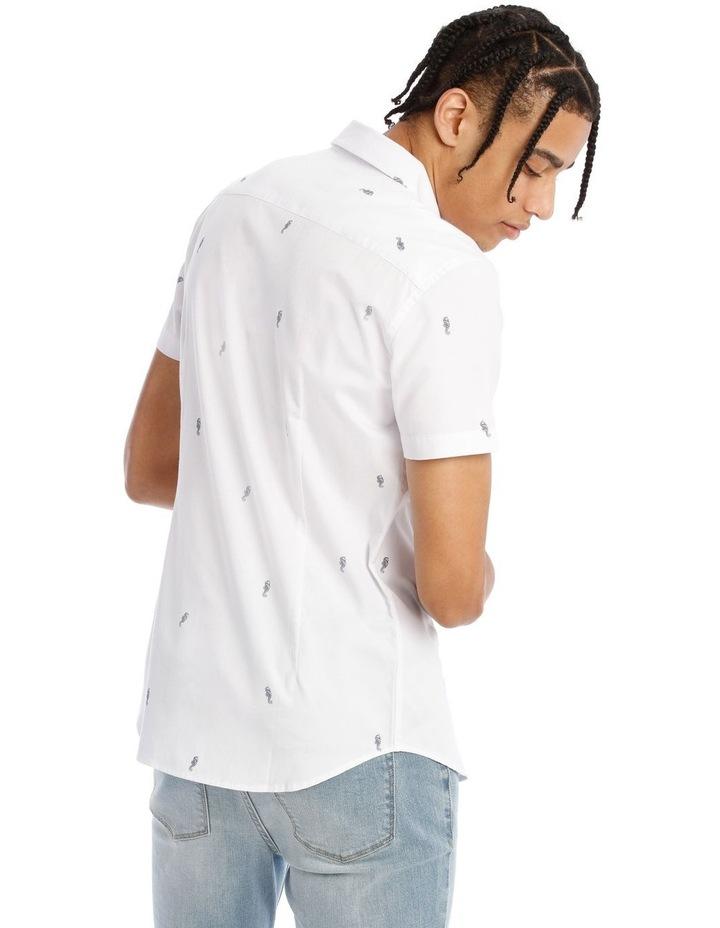 Quimby Geo Print Short Sleeve Shirt image 3