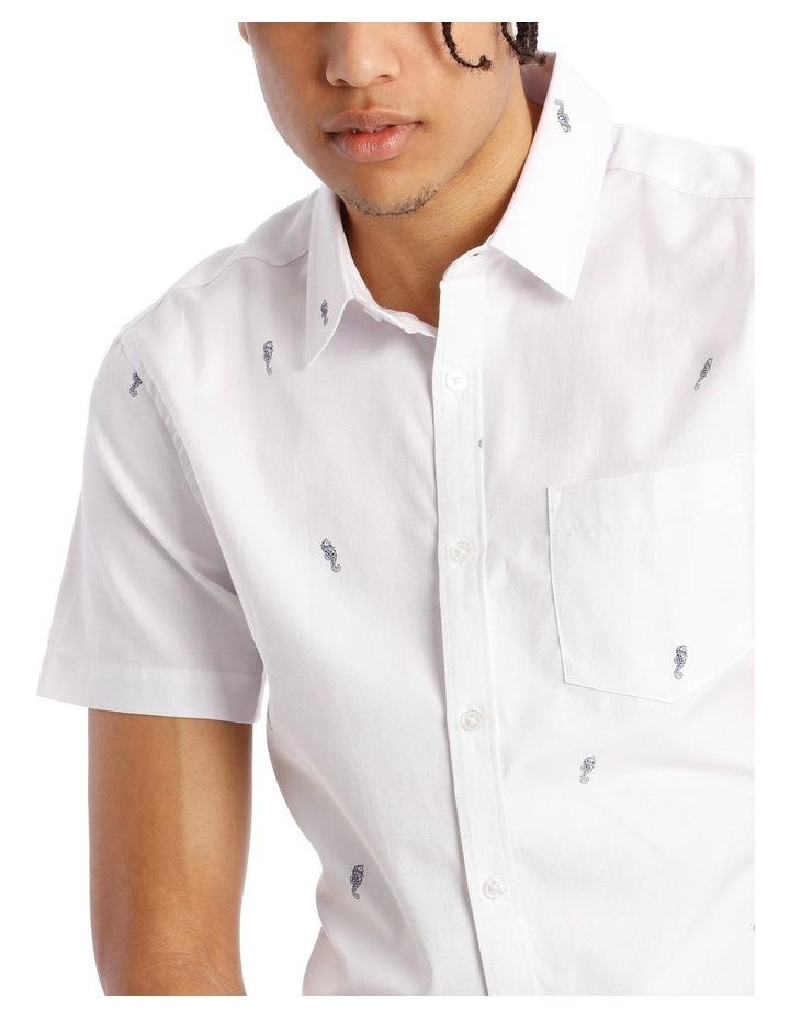 Quimby Geo Print Short Sleeve Shirt image 4
