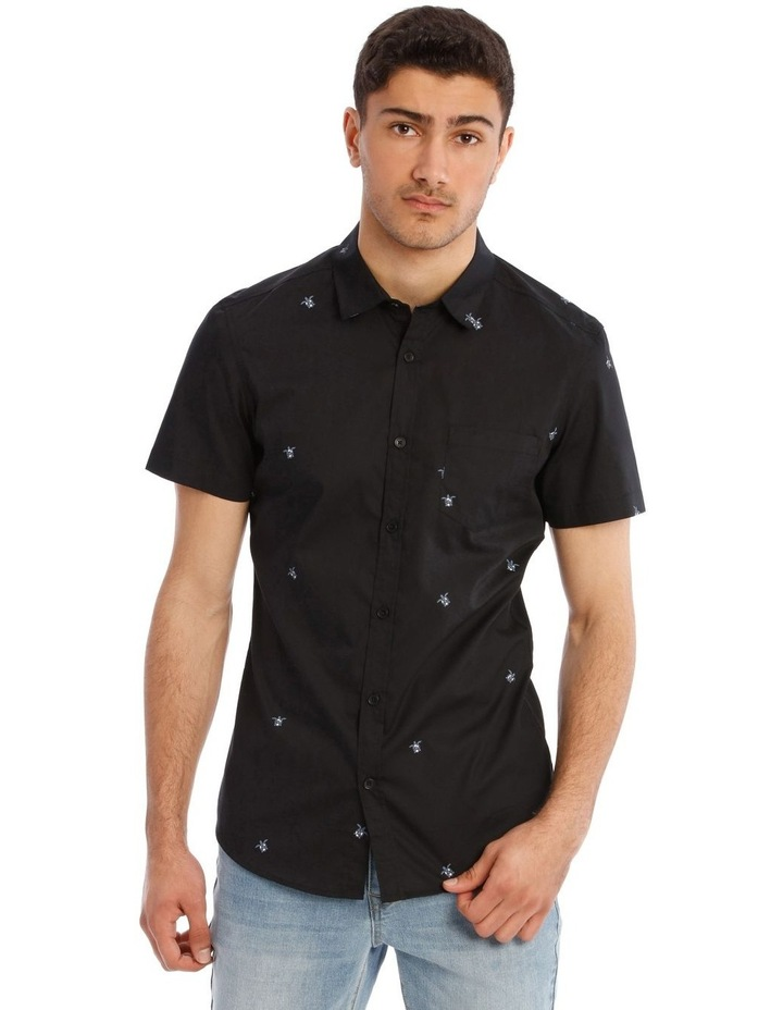 Brockman Geo Print Short Sleeve Shirt image 1