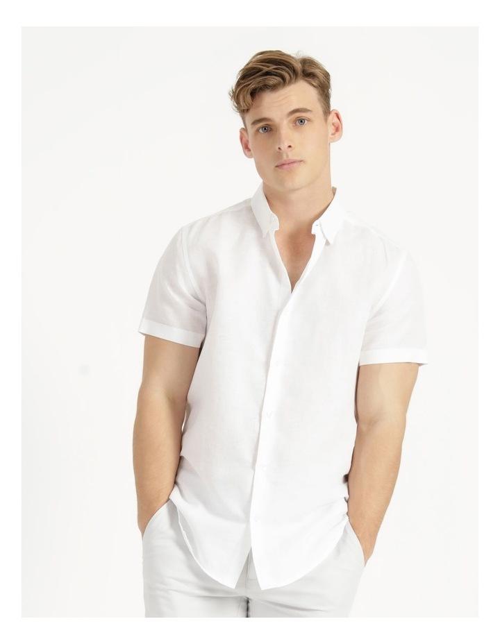 Lovejoy Linen Blend Short Sleeve Shirt image 3