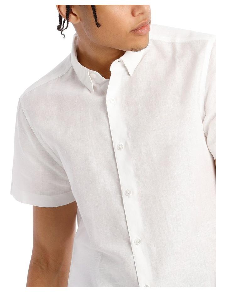 Lovejoy Linen Blend Short Sleeve Shirt image 4