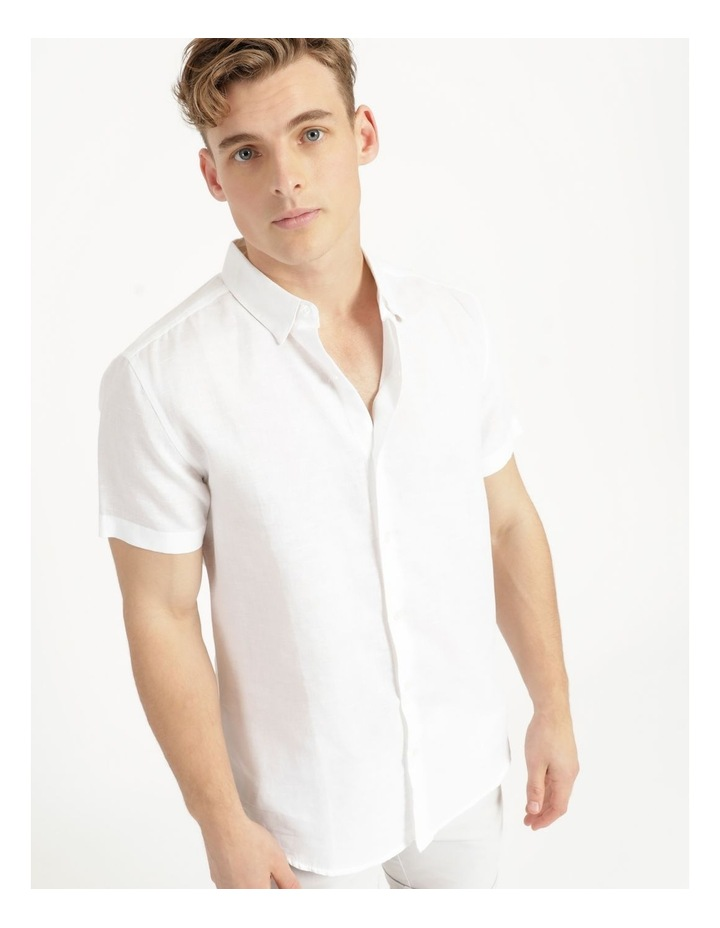 Lovejoy Linen Blend Short Sleeve Shirt image 5
