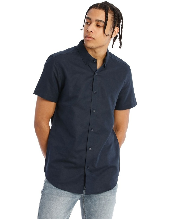 Lovejoy Linen Blend Short Sleeve Shirt image 1