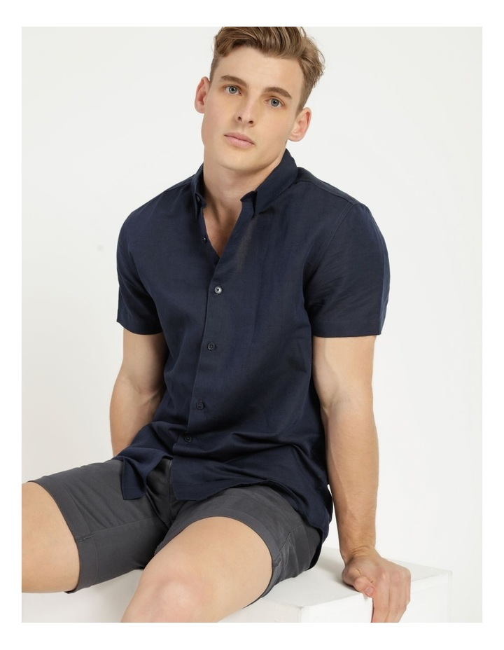 Lovejoy Linen Blend Short Sleeve Shirt image 2