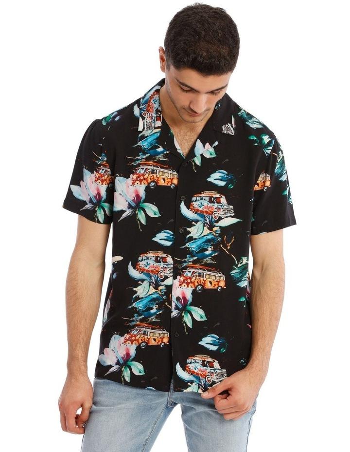 Cyanea All Over Print Short Sleeve Shirt image 1