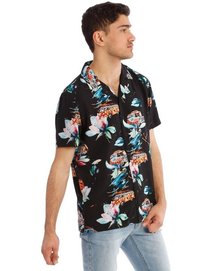 Cyanea All Over Print Short Sleeve Shirt image 2