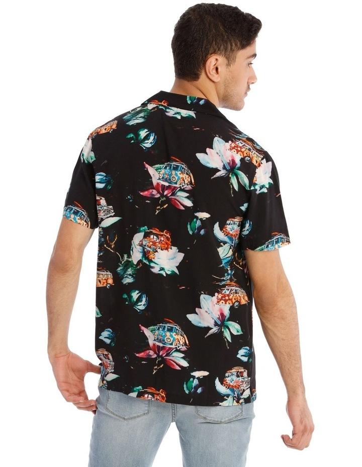 Cyanea All Over Print Short Sleeve Shirt image 3