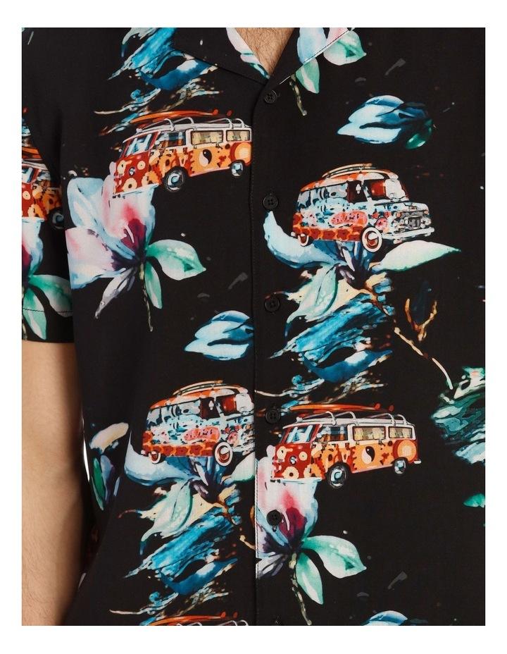 Cyanea All Over Print Short Sleeve Shirt image 4