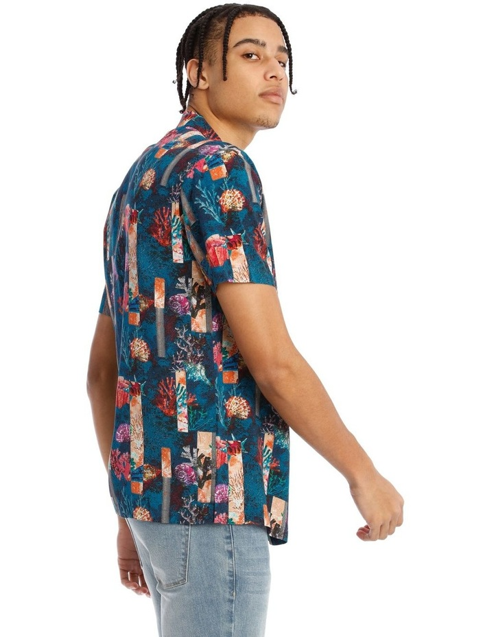 Monarch All Over Print Short Sleeve Rayon Shirt image 2