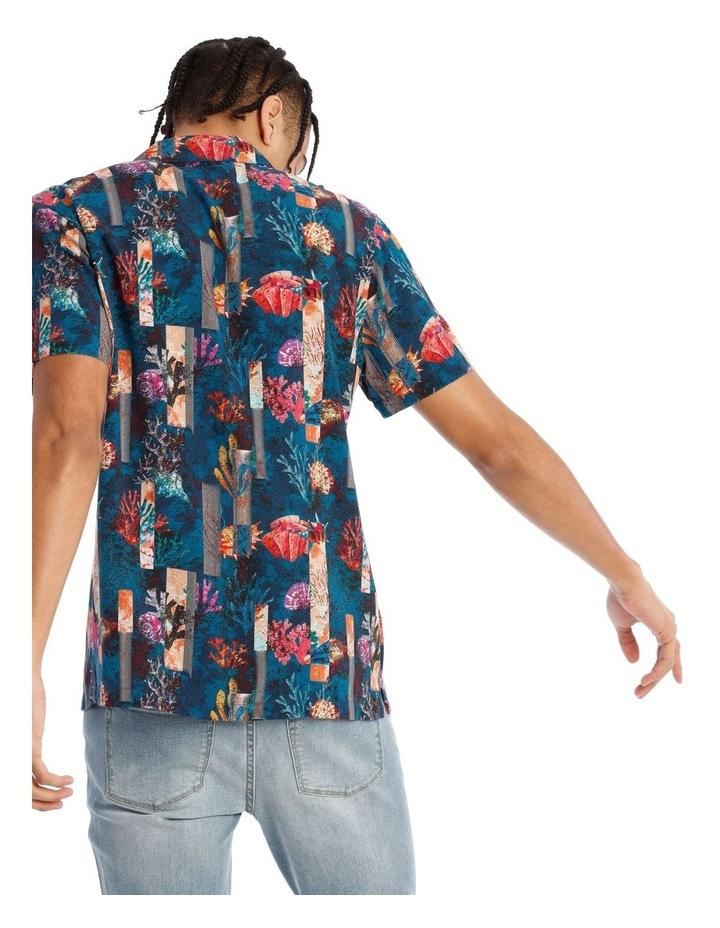 Monarch All Over Print Short Sleeve Rayon Shirt image 3