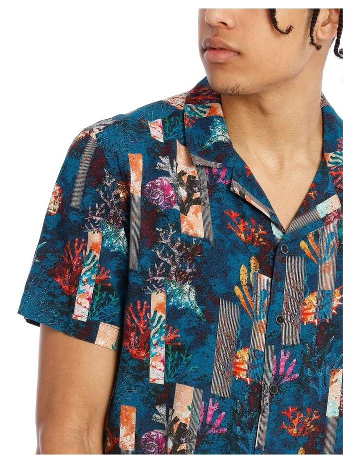 Monarch All Over Print Short Sleeve Rayon Shirt image 4