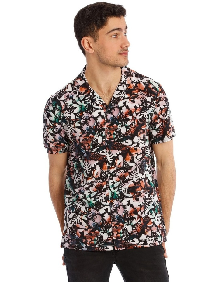 Heat Wave All Over Print  Short Sleeve Shirt image 1