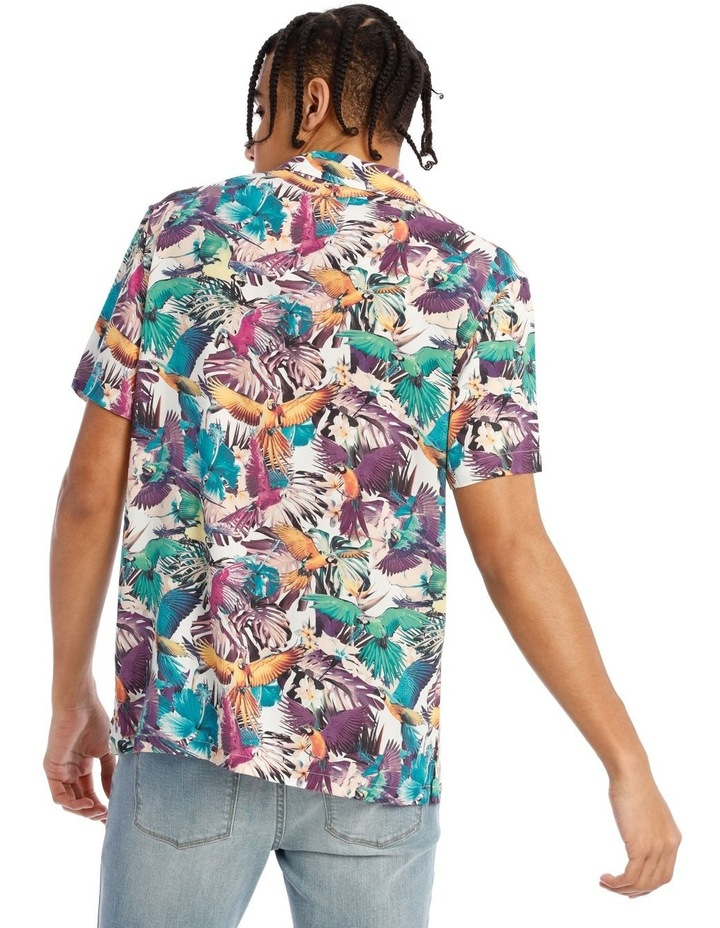 Rosehill All Over Print Short Sleeve Rayon Shirt image 3