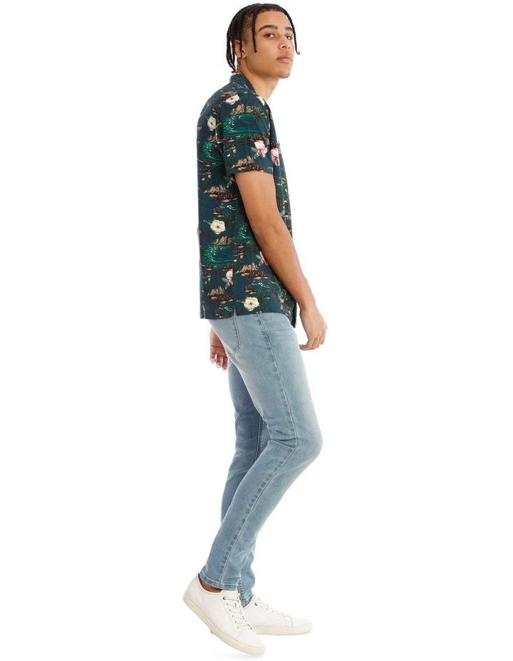 Java All Over Print Short Sleeve Rayon Shirt image 2