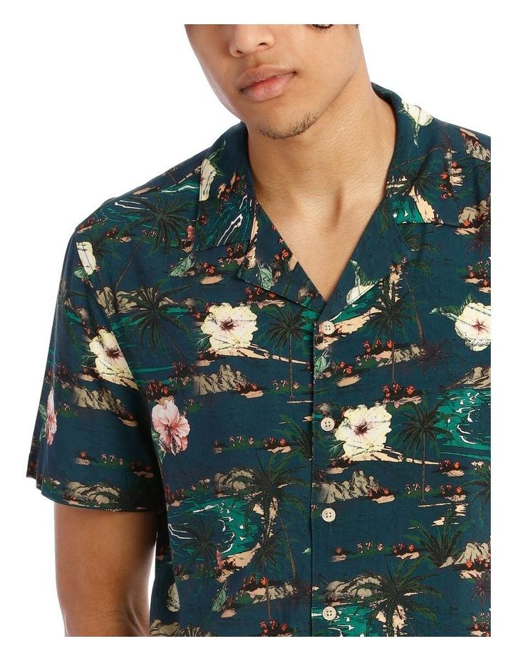 Java All Over Print Short Sleeve Rayon Shirt image 4