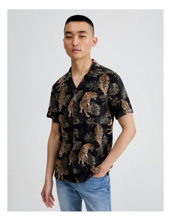 Short-Sleeve Umphang Print Shirt image 1