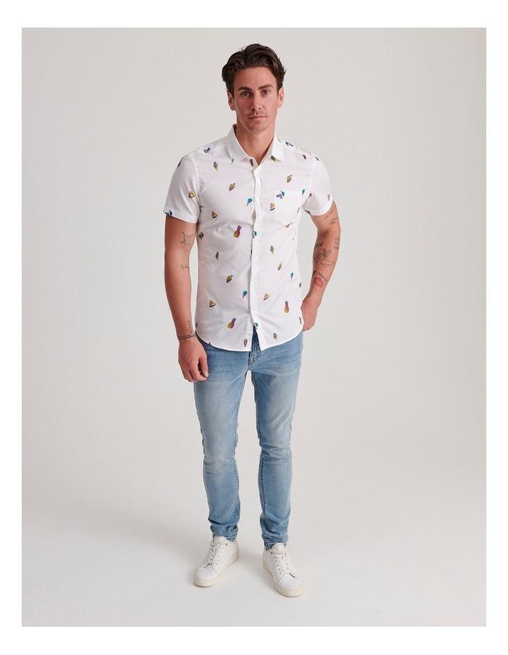 Glasswing Convo Print Short Sleeve Shirt image 2