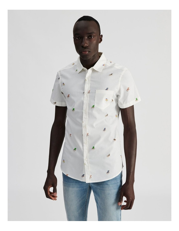 Bounce Back Convo Print Short Sleeve Shirt image 1