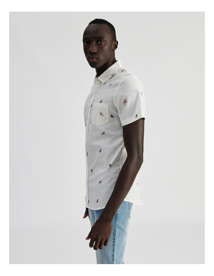 Bounce Back Convo Print Short Sleeve Shirt image 3