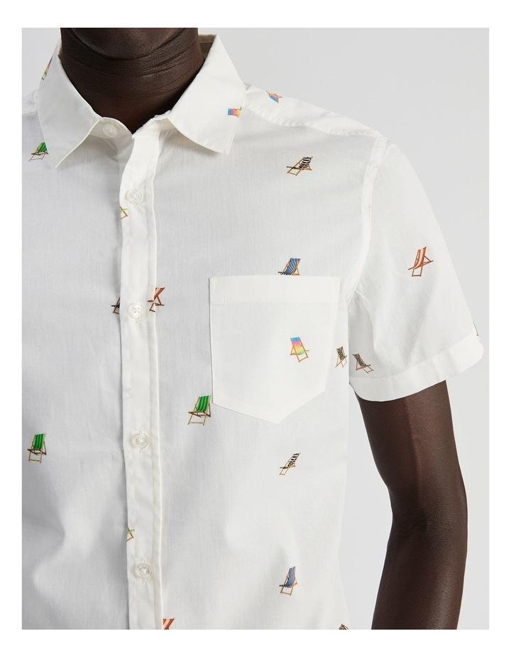 Bounce Back Convo Print Short Sleeve Shirt image 5