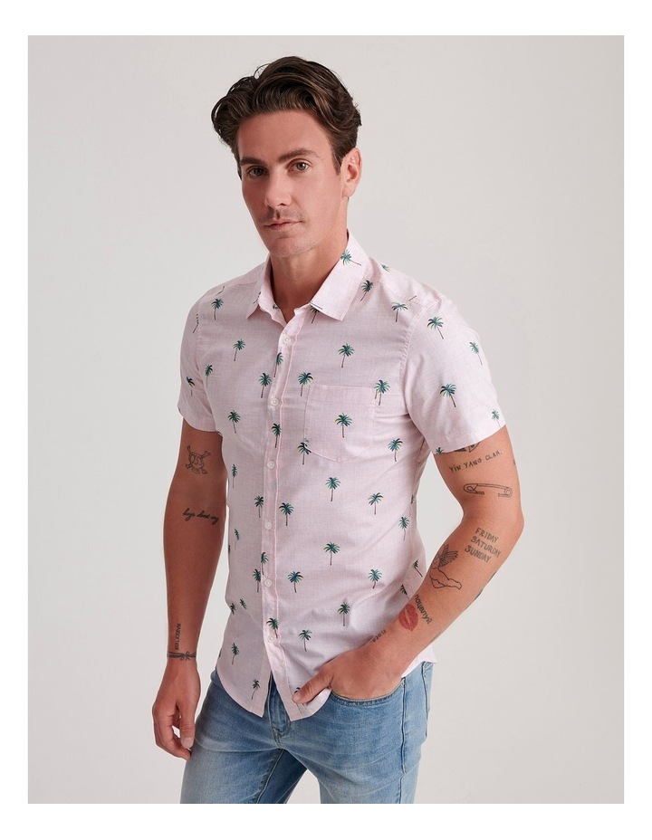 Tropical Wave Convo Print Short Sleeve Shirt image 3