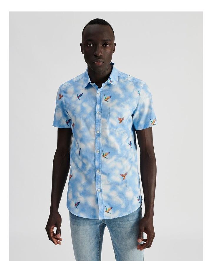 Malacca Cloud Convo Print Short Sleeve Shirt image 1