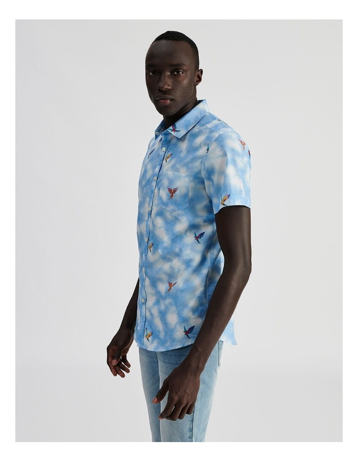 Malacca Cloud Convo Print Short Sleeve Shirt image 3