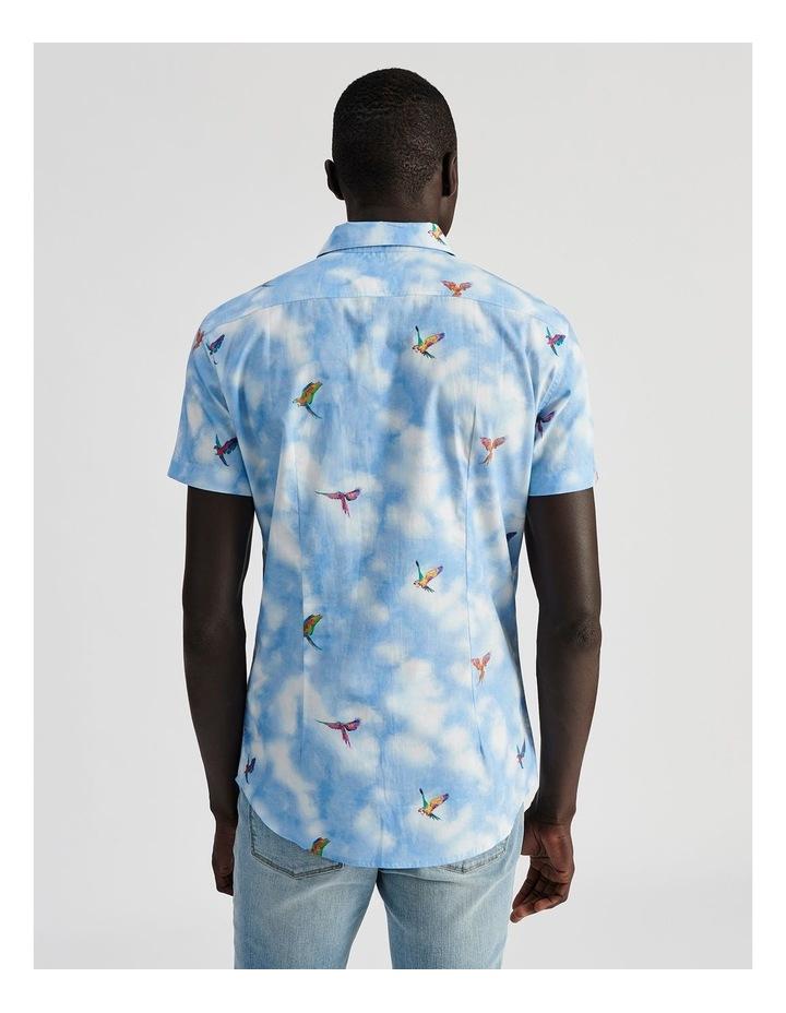 Malacca Cloud Convo Print Short Sleeve Shirt image 4