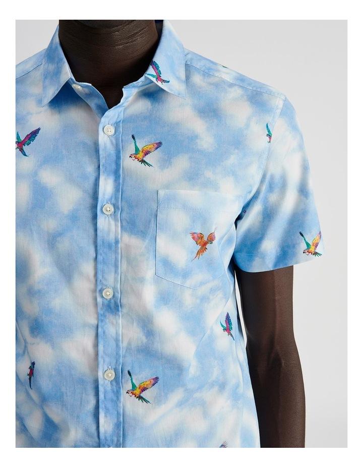 Malacca Cloud Convo Print Short Sleeve Shirt image 5