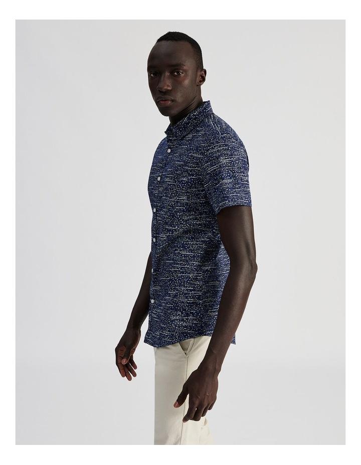 Monocot Geo Print Short Sleeve Shirt image 3