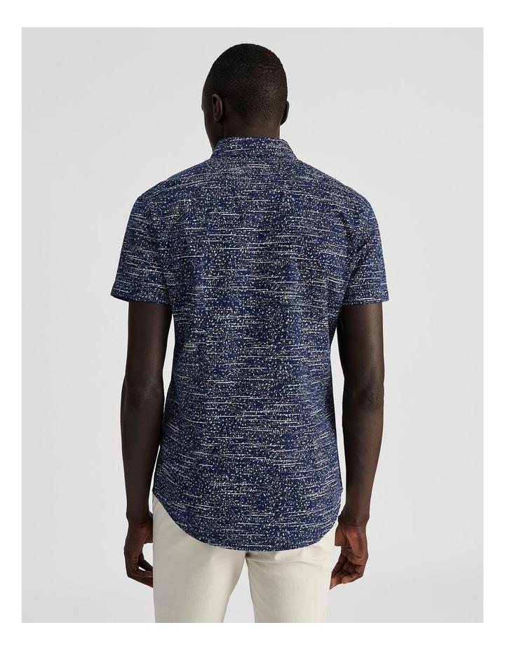 Monocot Geo Print Short Sleeve Shirt image 4