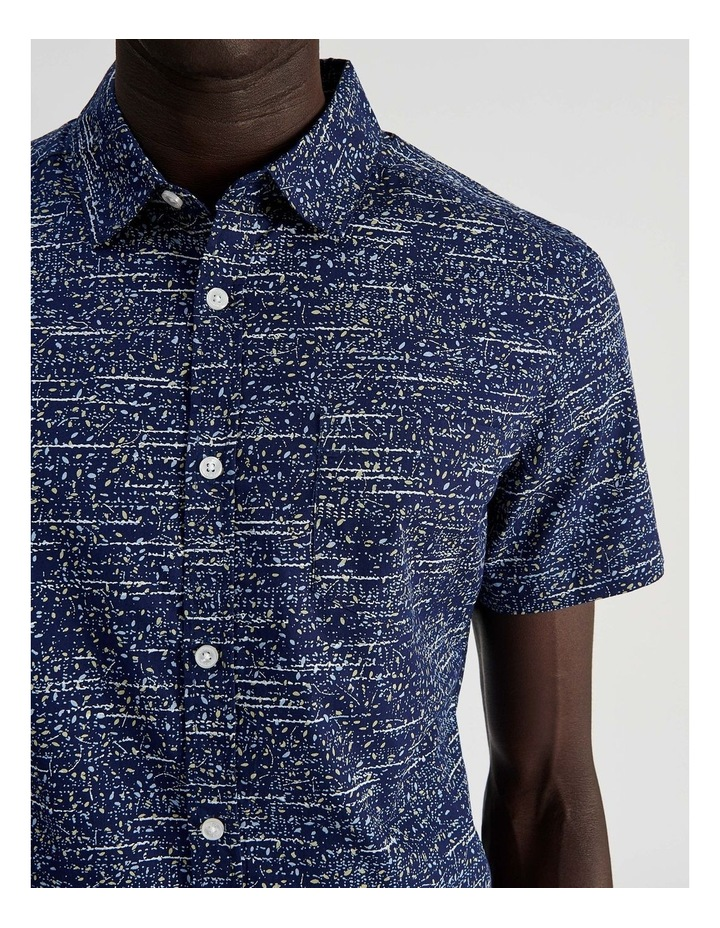 Monocot Geo Print Short Sleeve Shirt image 5