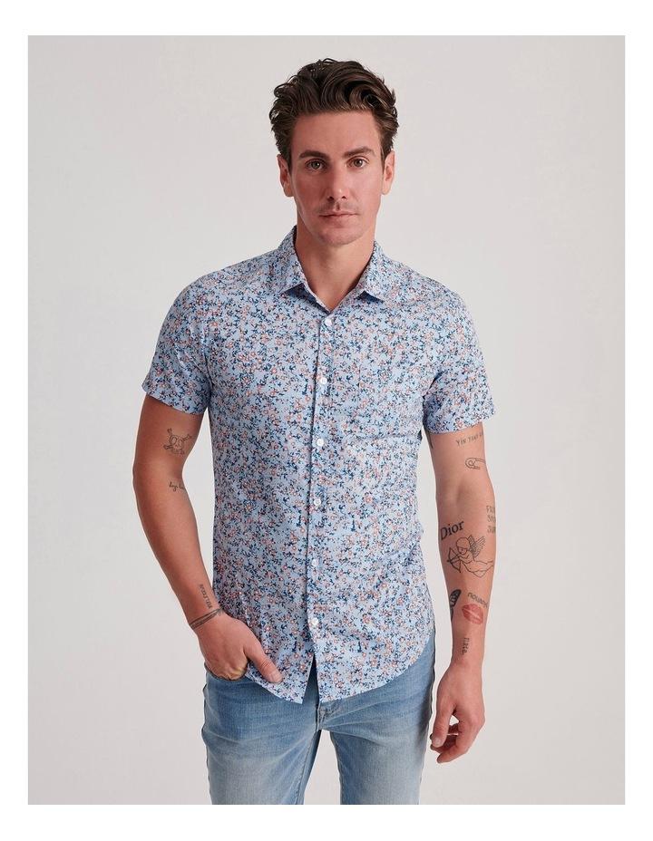 Blowout Geo Print Short Sleeve Shirt image 1